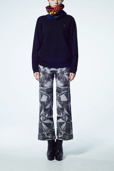 Slade Collection- Diamond Graphic Jacquard Legging