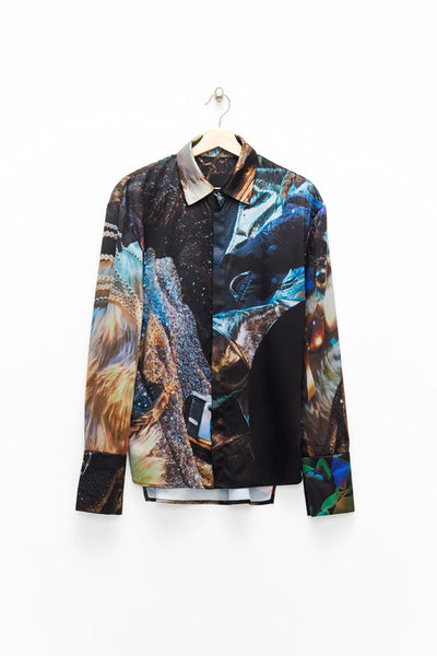 Slade Collection- Velvet Goldmine Inspired Printed Shirt