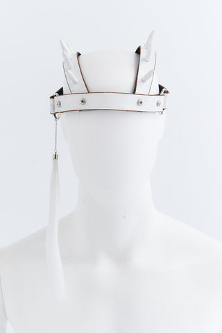 White Punk Headpiece