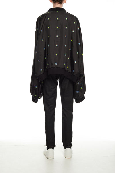 Andy Collection- Double Face Over-sized Graphic Coat - Johan Ku Shop