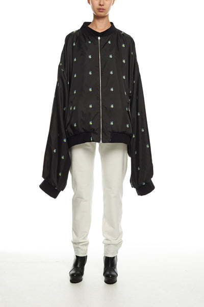 Andy Collection- Double Face Over-sized Graphic Coat