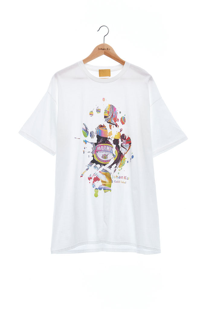 Andy Collection- British Supermarket Inspired Graphic T-Shirt - Marmite(White)
