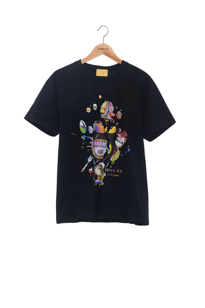 Andy Collection- British Supermarket Inspired Graphic T-Shirt - Marmite(Black)