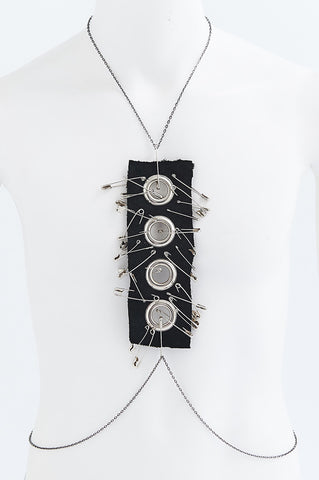 Heavy Metal Punk Necklace
