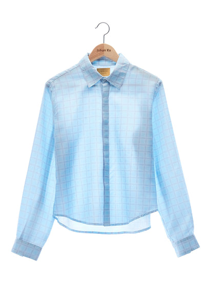 Elioliver Collection- Elioliver Graphic Plaid Shirt