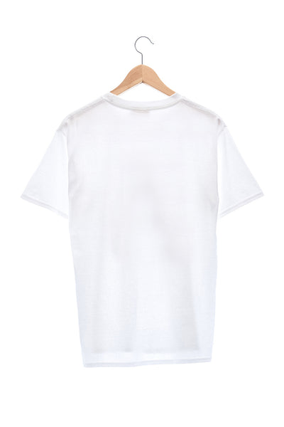"Elioliver Collection- ""Sculpture in Slide"" Graphic T-Shirt - White"