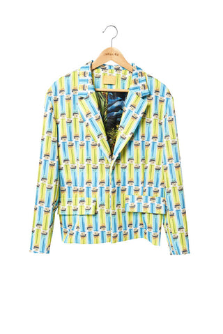 Elliot Collection- Lighter Print Jacket