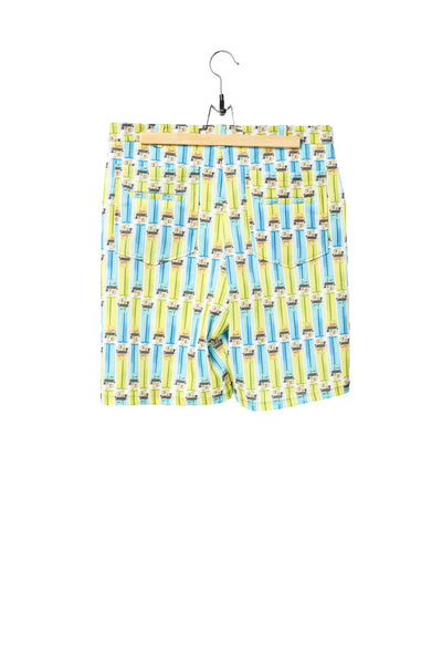 Elliot Collection- Lighter Plaid Print Shorts