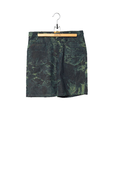 Elliot Collection- Tie Dye Denim Shorts