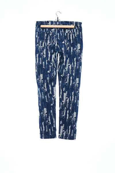 Sean Collection- Damaged Effect Jacquard Trouser