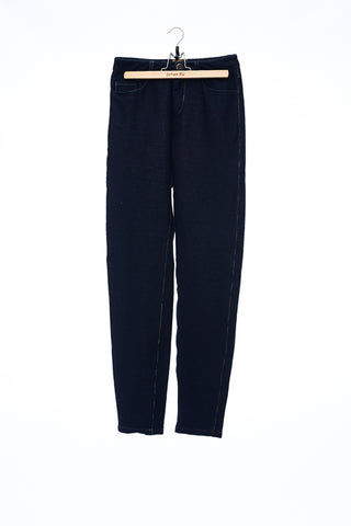 Sean Collection- Knitted Elastic Jeans