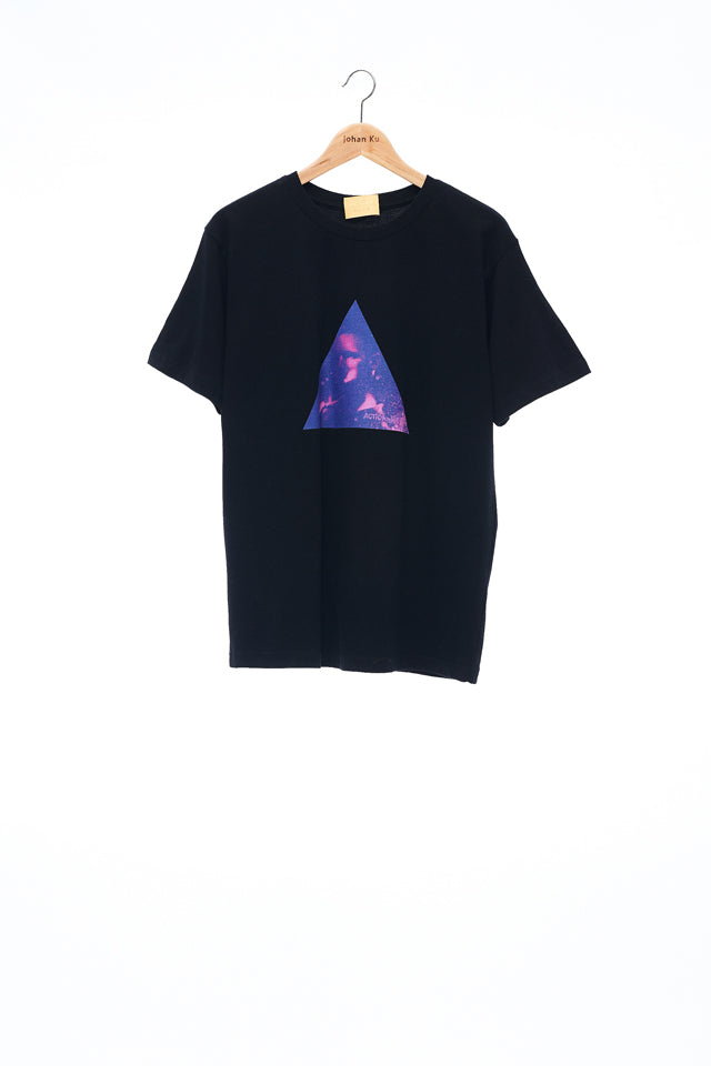 Sean Collection- BPM Inspired Triangle Graphic T-Shirt -Black