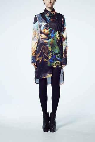 Slade Collection- Velvet Goldmine Inspired Long Shirt
