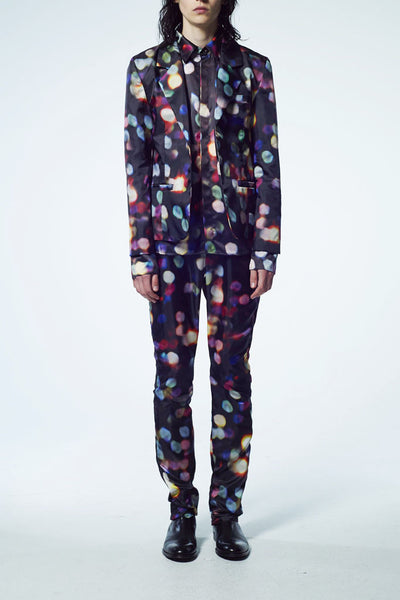 Slade Collection- Colourful Dots Printed Blazer