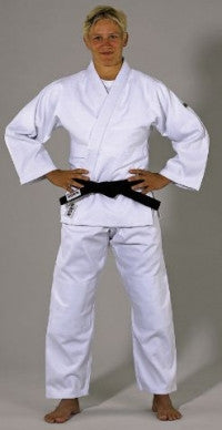 White Deluxe Judo - Jiu jitsu Uniform