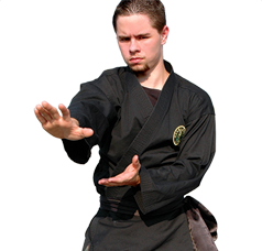 Karate or Traditional Uniform. BLACK