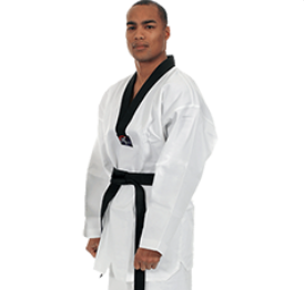 Master Tae Kwon Do or V Neck Black Trim Uniform