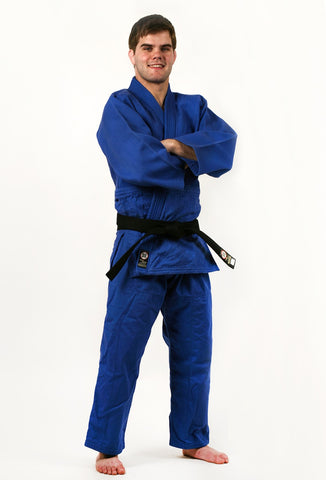 Blue Deluxe Judo - Jiu jitsu Uniform