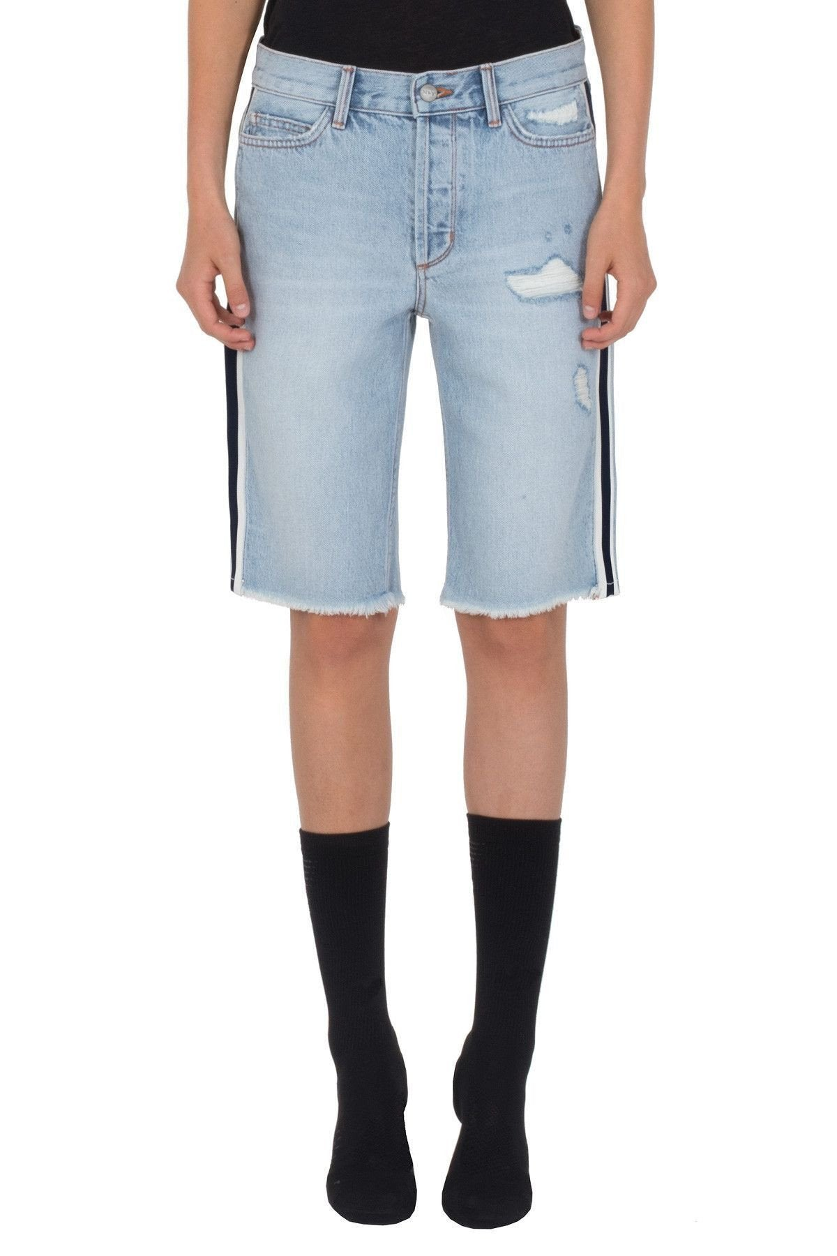 Siwy Memphis In Smokey Factory Blues Shorts-Skirts & Shorts-Siwy Denim
