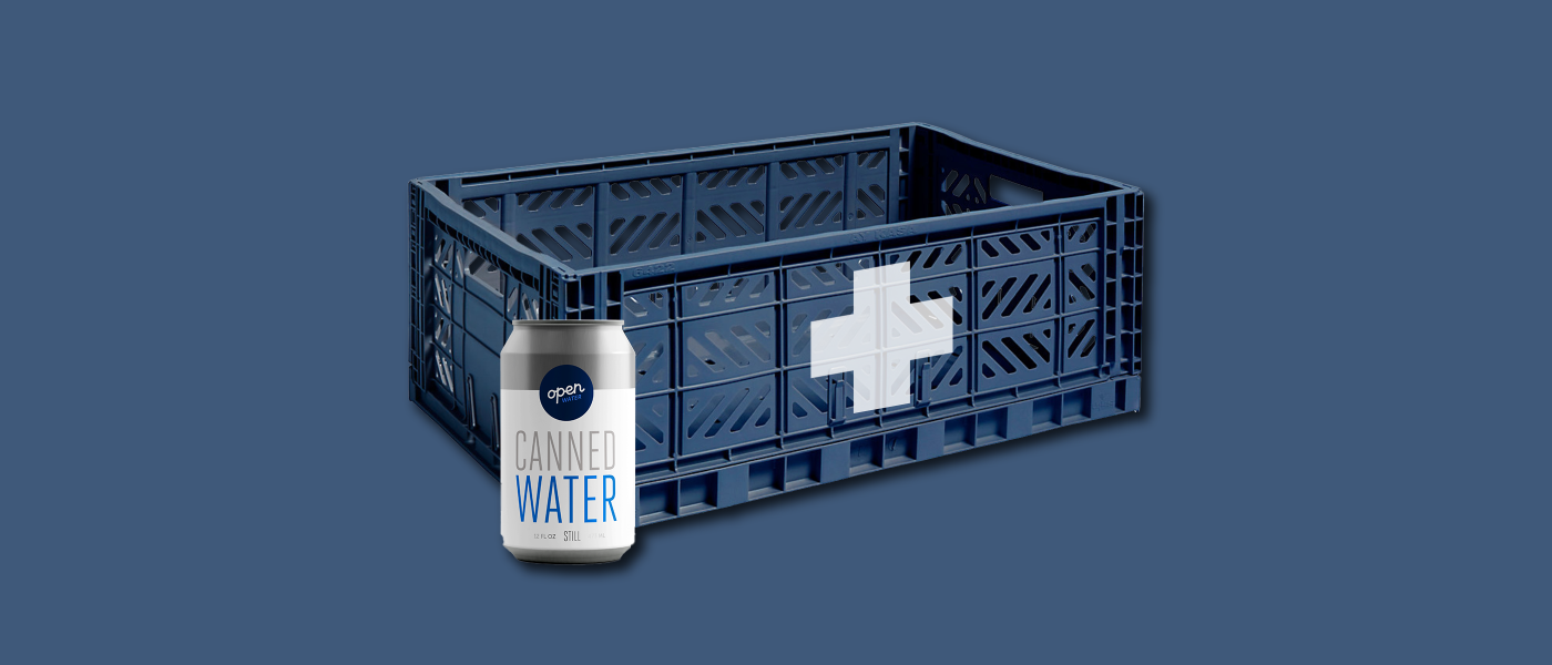 emergency canned water