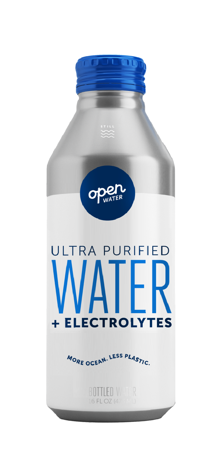 Aluminum bottled water