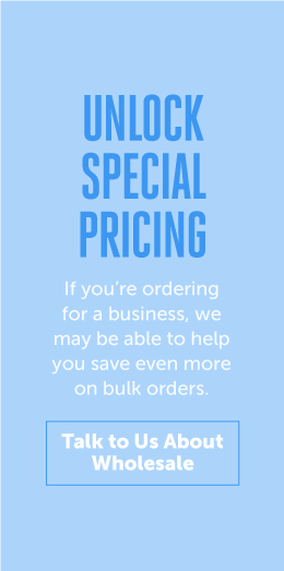 Unlock special pricing for canned water