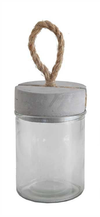 Jar with Cement Lid