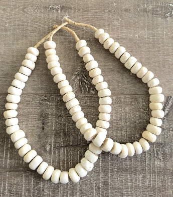 Bone African Bead Necklace