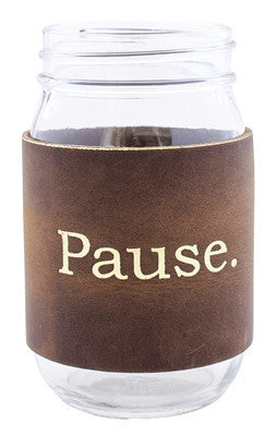 Pause Leather Sleeve Mason