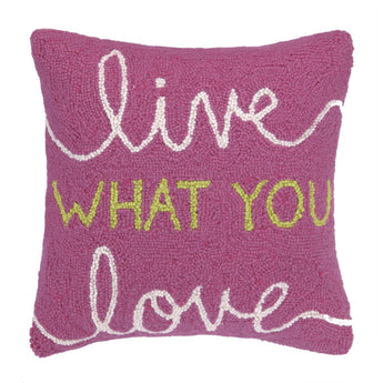Live What You Love Pillow