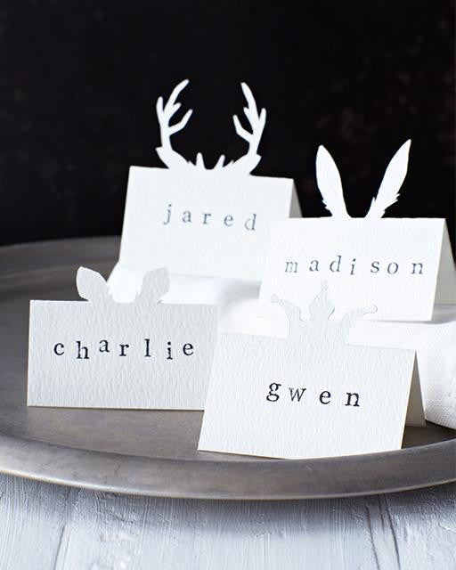 DIY Animal Place Cards