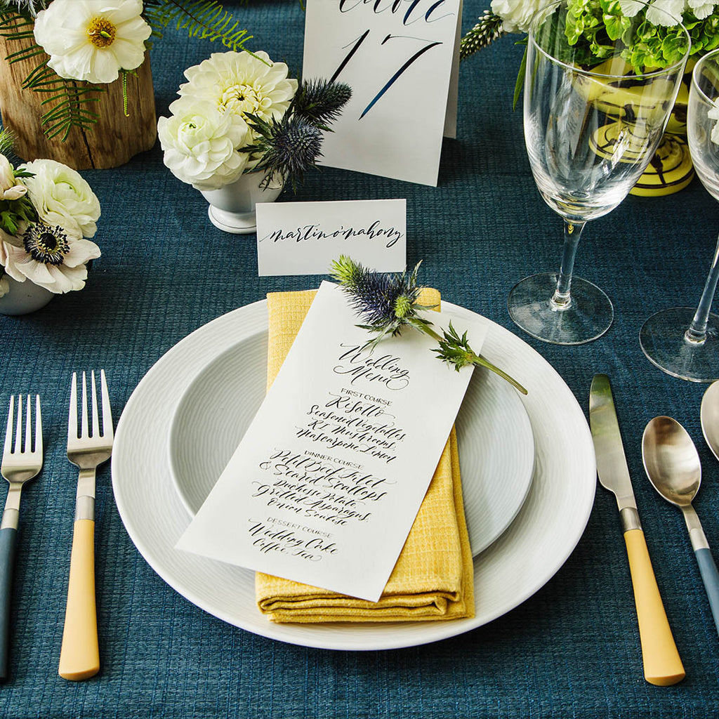 The Anatomy of a Place Setting