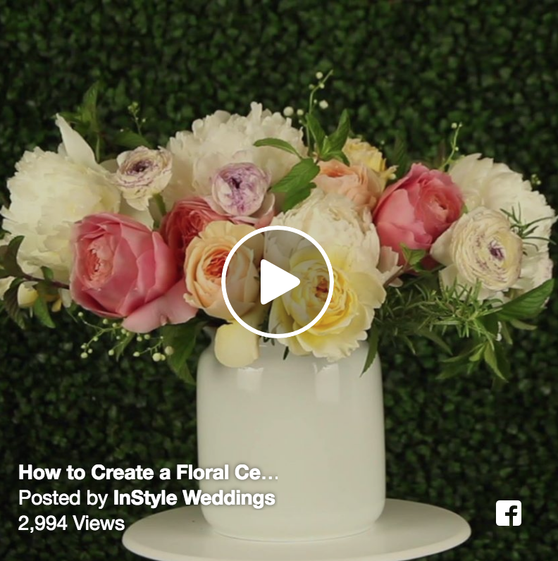 How to Make a Floral Centerpiece!