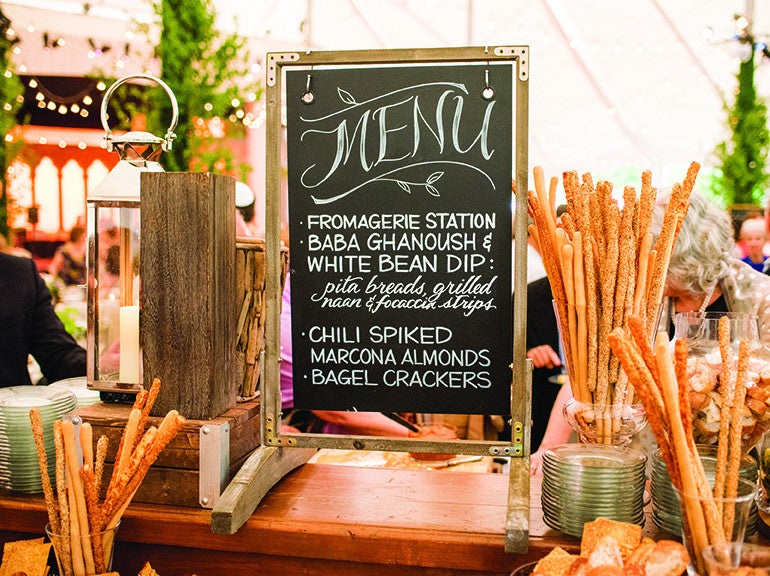 Wedding Menu Planning Tips