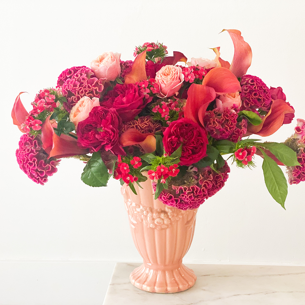 Invited Blooms: August 2020 Vibrant Summer Tones
