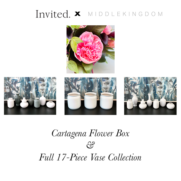 Invited Blooms: Cartagena