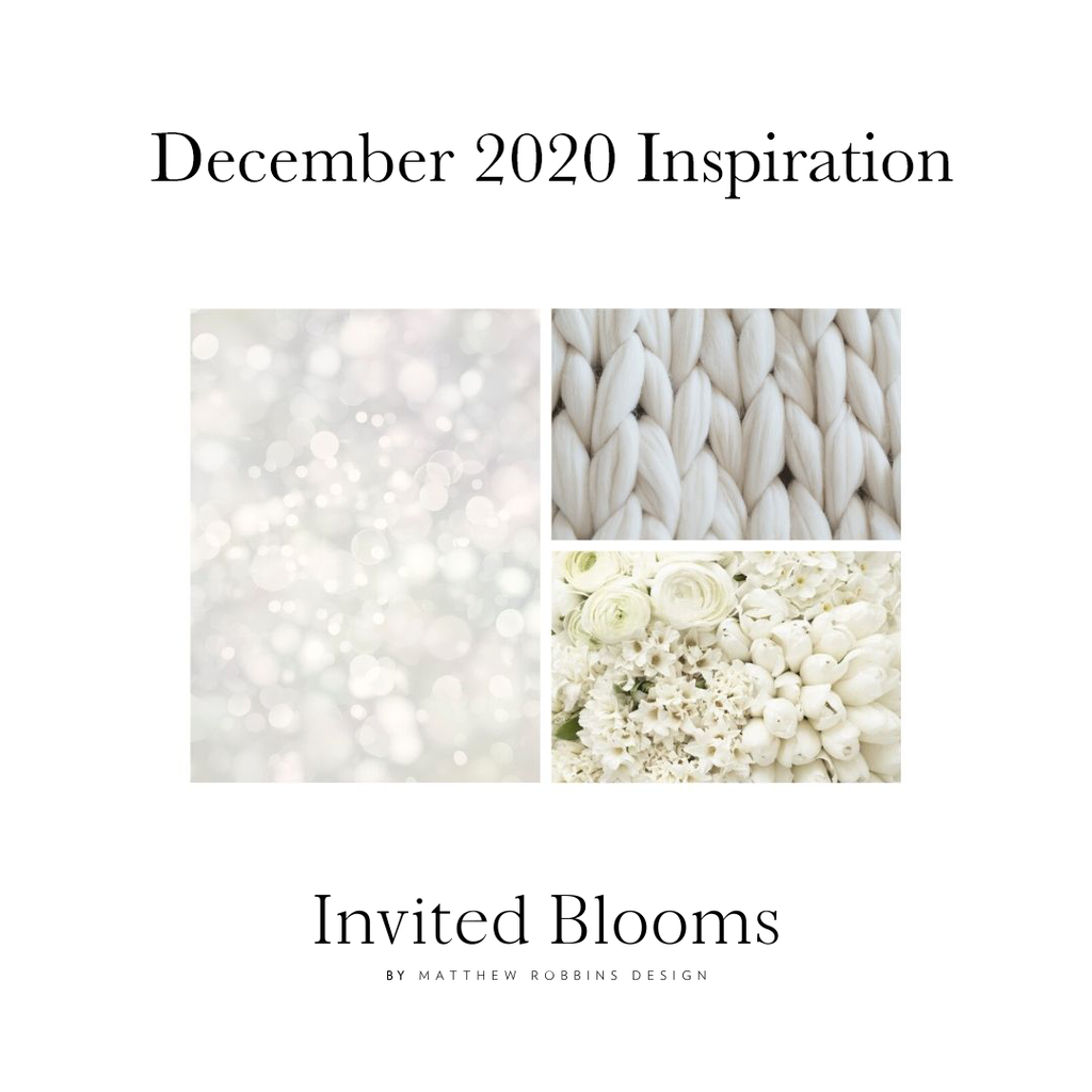 Invited Blooms: December 2020 Celebrate the Season