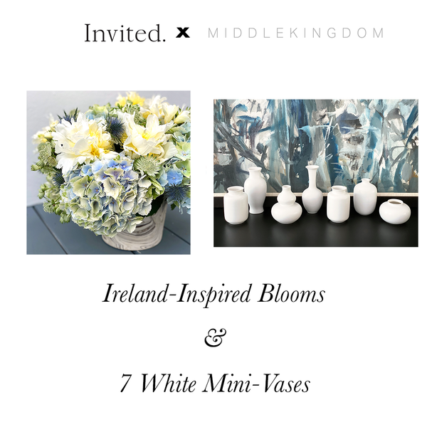 Invited Blooms: Ireland-Inspired Fresh Flower Box