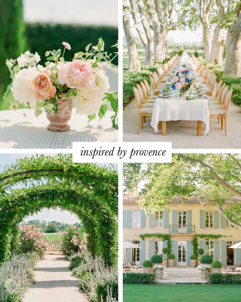 Invited Blooms: Provence