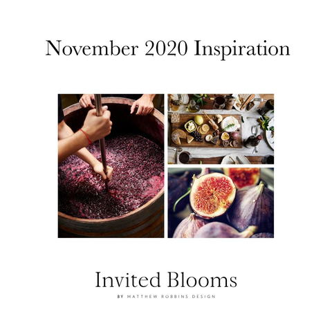 Invited Blooms: November 2020 Giving Thanks