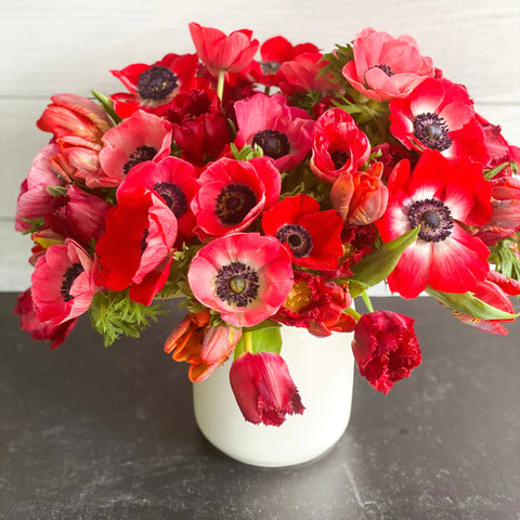 Scarlet Valentine's Day Mix - February 2021 - Invited Blooms