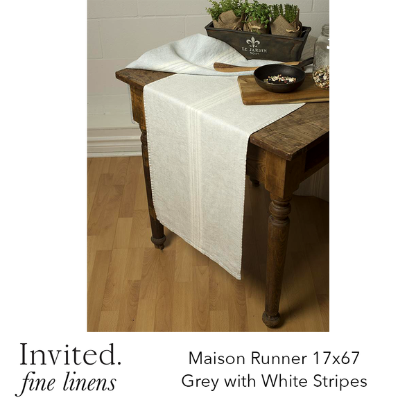 Invited Fine Linens: Maison Runner