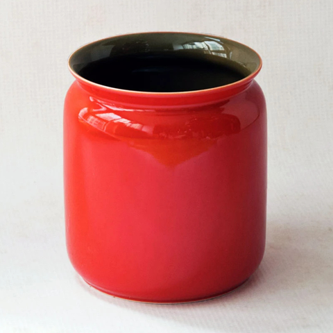 Invited x Middle Kingdom Porcelain: Red Scholar Vase