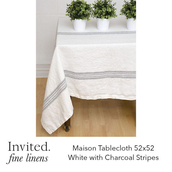 Invited Fine Linens: Maison Tablecloth