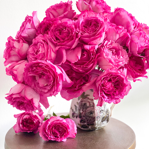 Invited Blooms: Yves Piaget Roses for Labor Day