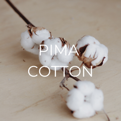 Pima Cotton is one of our sustainable resources.
