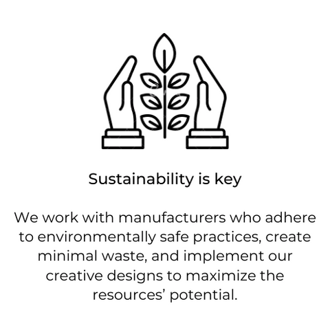 At daph. we value Sustainability.