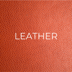 Leather is one of our sustainable resources.