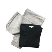 V-Neck + Wide Leg Pant Bundle