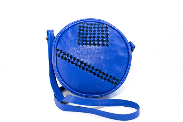 Inspired by the Incan ruins which are composed of several terraced circular depressions, the Moray Circle Purse is the ideal everyday bag.